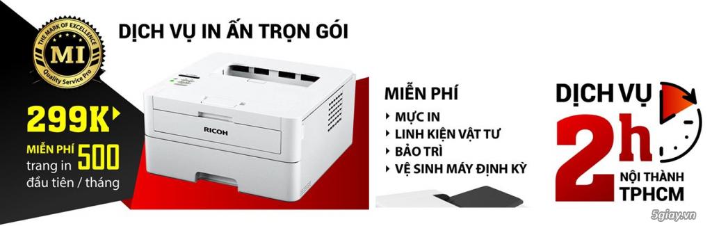 Mua bán, Sửa chữa, Thay mực máy in, photo tại TP.HCM - 2