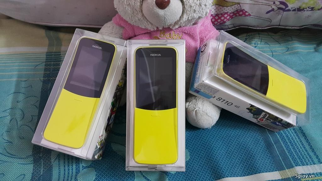 Phát 4G điện Thoại Nokia 8110 4G nguyên seal End 23h: 14/08/19 - 4