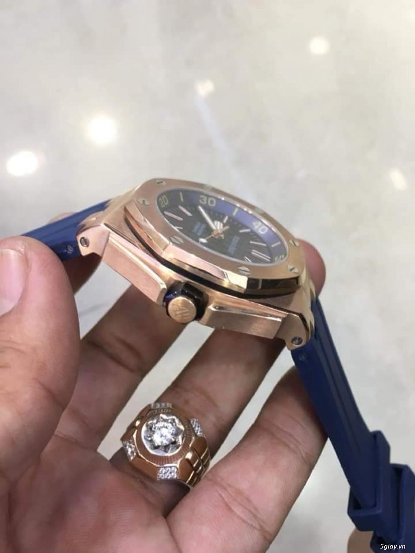 Siêu phẩm Audermard Piaget Silver & pink gold & Blue - 9
