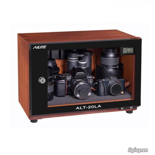 Tủ chống ẩm chuyên dụng Ailite thiết bị cần thiết cho máy ảnh máy quay