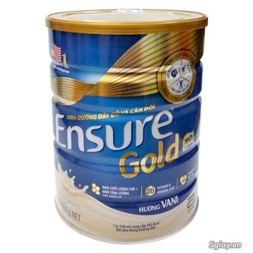 Sữa Ensure Cold 850g chỉ có giá 655k