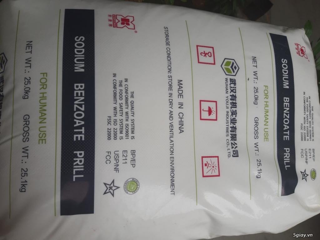 Sodium Benzoat ( chống mốc thực phẩm ) - 1