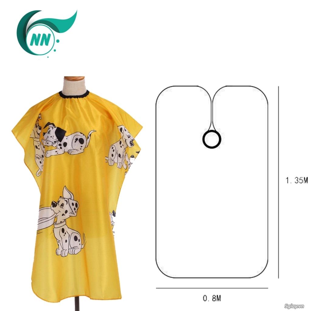 Áo Choàng Tóc Họa Tiết Chống Thấm Nước 135 x 80 cm - 1