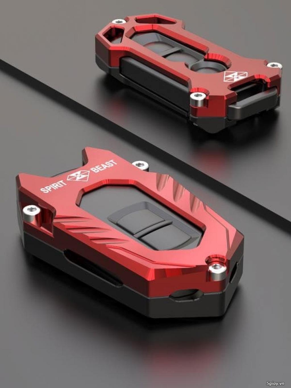 Ốp Chìa Khóa CNC Smartkey Honda SH, SHmode, PCX,LEAD, AIRBLADE, VISION - 5