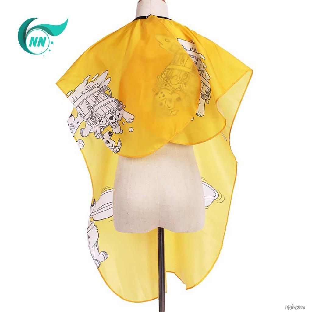 Áo Choàng Tóc Họa Tiết Chống Thấm Nước 135 x 80 cm - 2