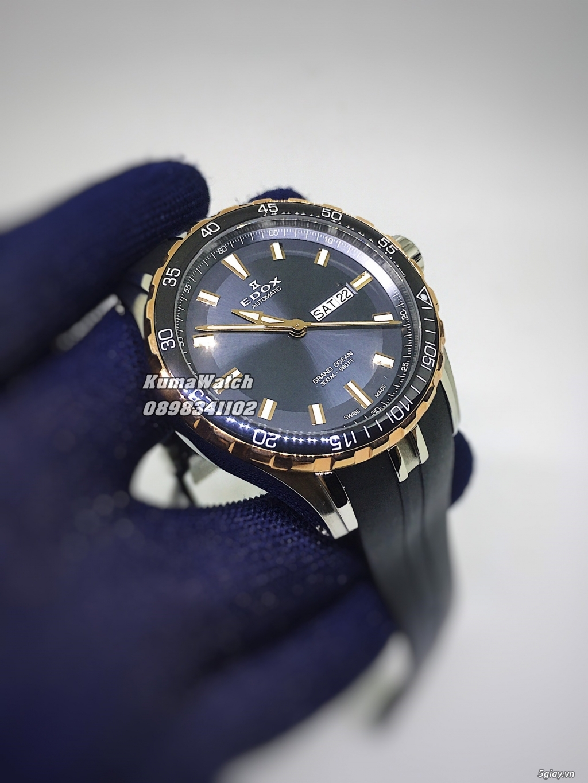 [KumaWatch] Edox Grand Ocean, Tissot Diamond- Swiss Made Automatic - 35