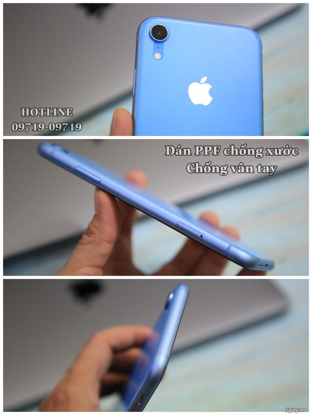 Dán PPF chống xước chống vân tay iPhone X/Xs/XsMax/Xr - Đẹp xuất sắc !! - 2