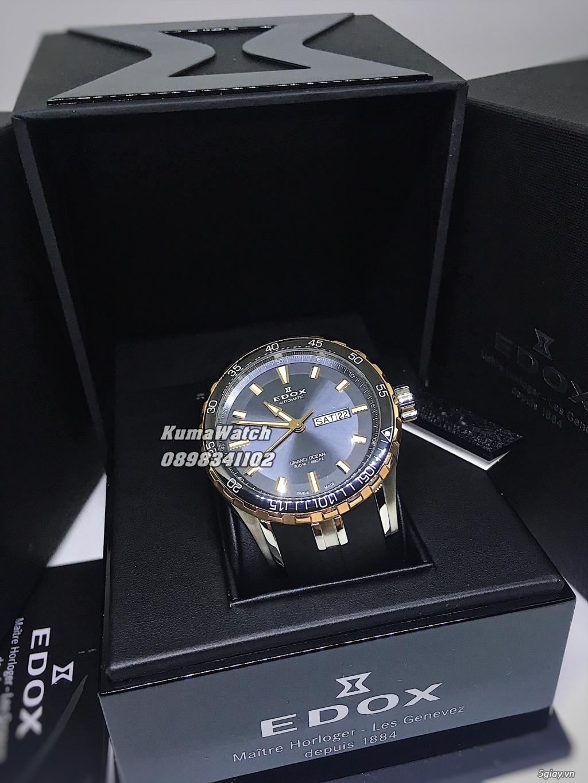 [KumaWatch] Edox Grand Ocean, Tissot Diamond- Swiss Made Automatic - 33