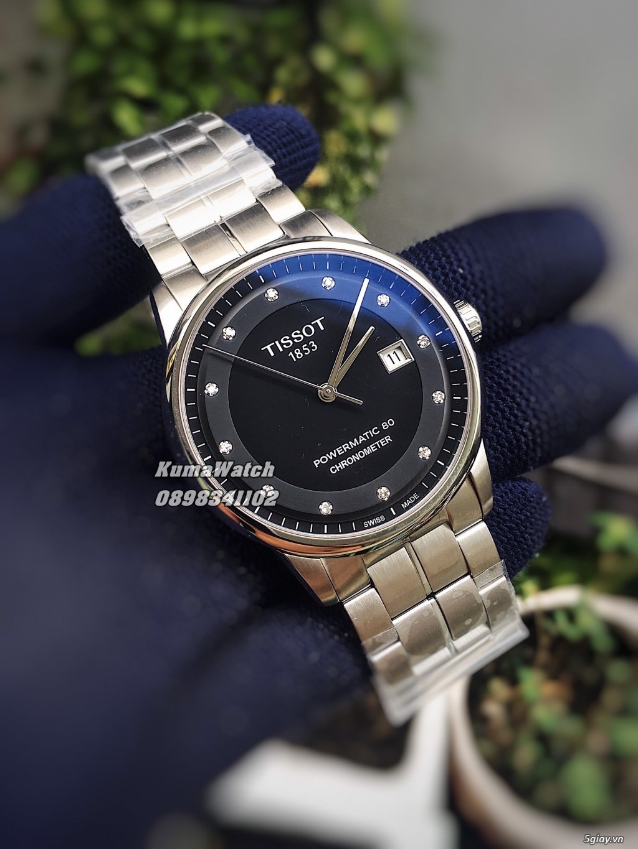 [KumaWatch] Edox Grand Ocean, Tissot Diamond- Swiss Made Automatic - 1