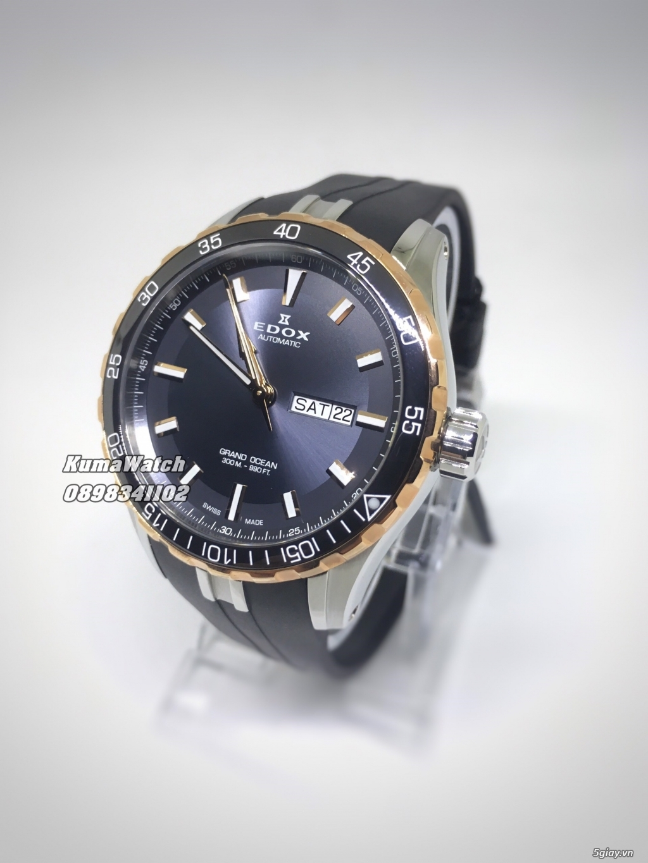 [KumaWatch] Edox Grand Ocean, Tissot Diamond- Swiss Made Automatic - 29