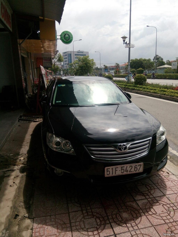 Toyota Camry 2.4G 2007 màu đen rất đẹp