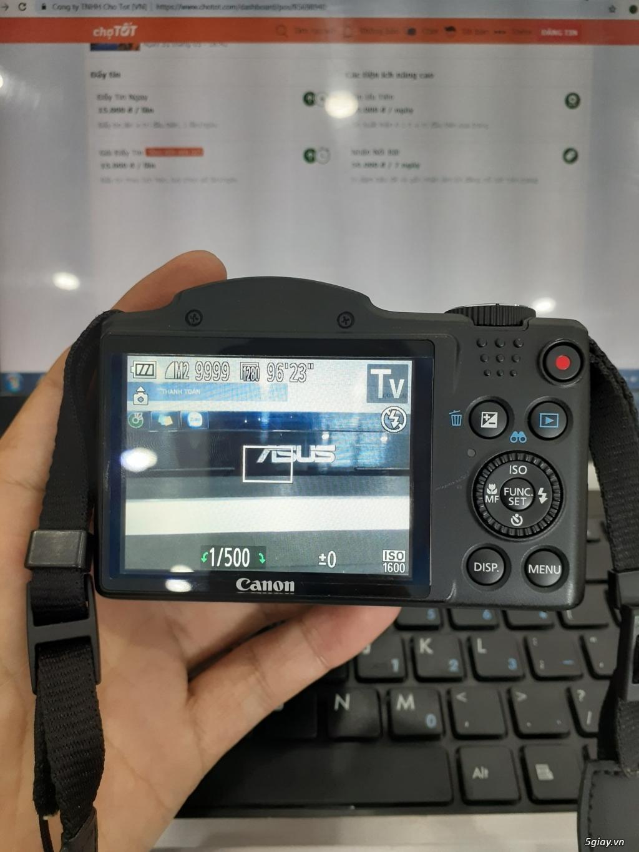 Bán máy ảnh canon sx500is siêu zoom_mới 99% - 4