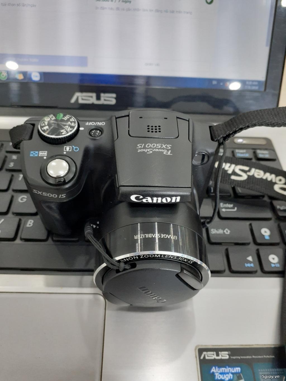 Bán máy ảnh canon sx500is siêu zoom_mới 99% - 2
