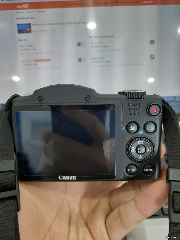Bán máy ảnh canon sx500is siêu zoom_mới 99% - 1