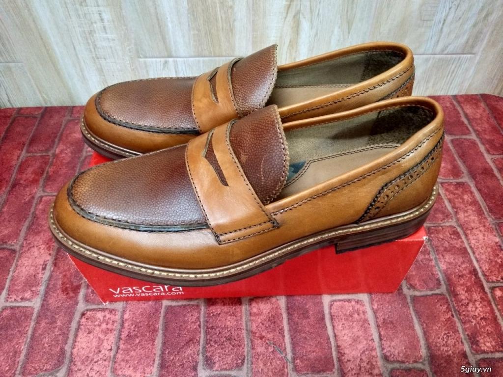 Cần Thanh Lý Đôi Giày Da Nam Penny Loafer Còn Mới 90% Size 42