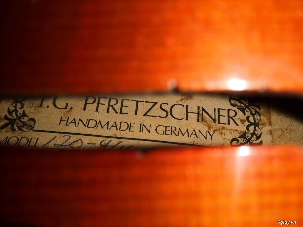 Violin Đức handmade tiếng bao hay