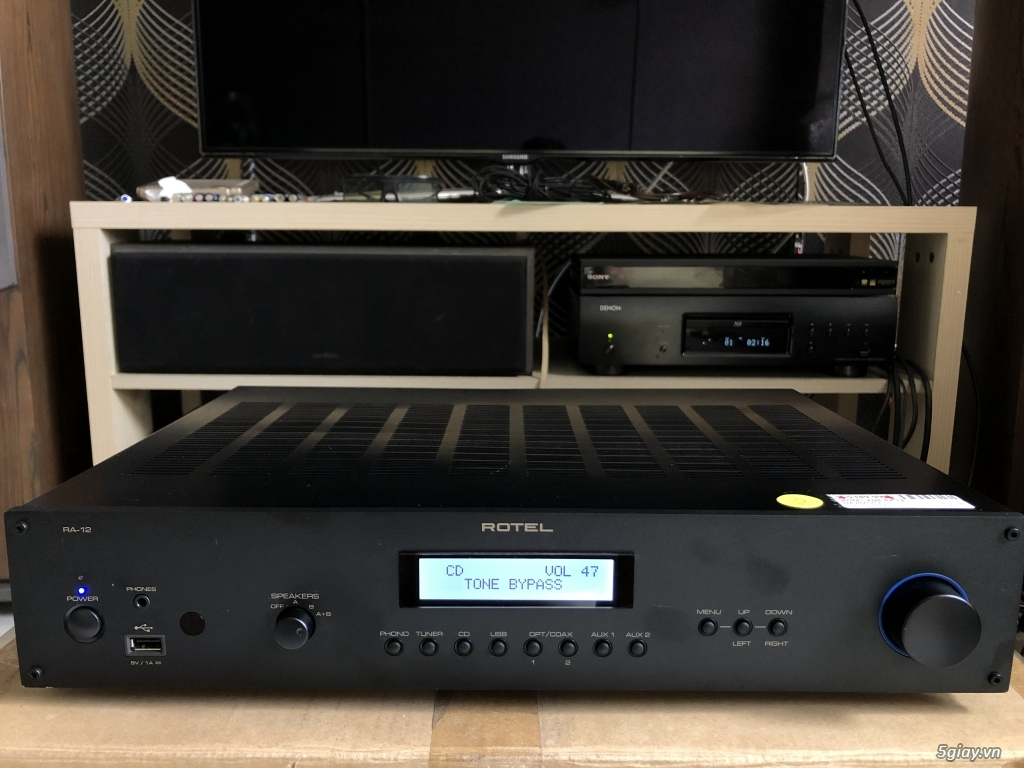 Receiver và ampli (nghe nhạc & xem phim-3D-dtsHD-trueHD-HDMA)loa-center-sub-surround. - 35