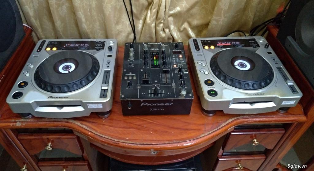 Dàn DJ Pioneer CDJ 850 + DJM 700 chơi USB cực nhạy - 2