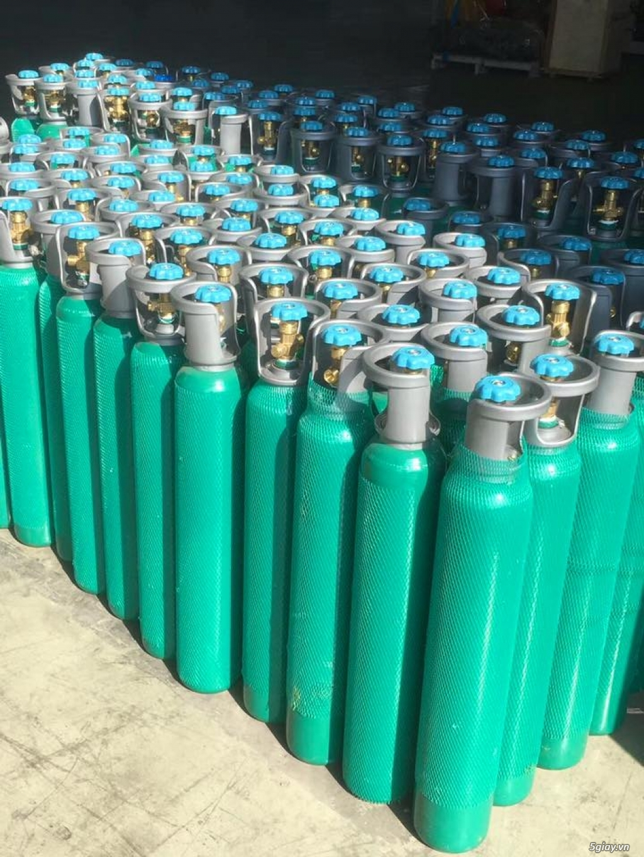 Đổi bình khí oxy co2 argon nito