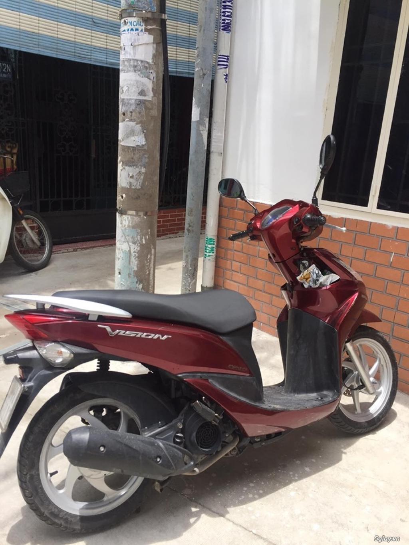 Ban xe vison dang ki thang 3/ 2013