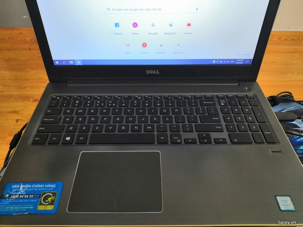 Dell 5568 i5 7200u/12gb/940mx/ssd - 1