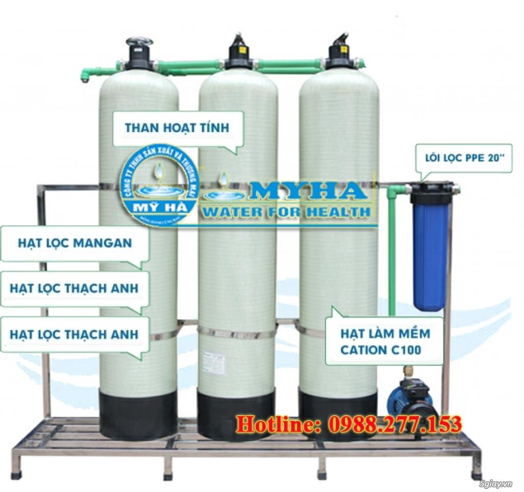 Hệ thống sử lý nước sinh hoạt