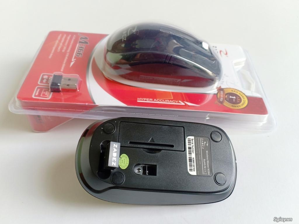Chuột quang không dây ZADEZ M366 - TỰ NGẮT KẾT NỐI- TIẾT KIỆM PIN