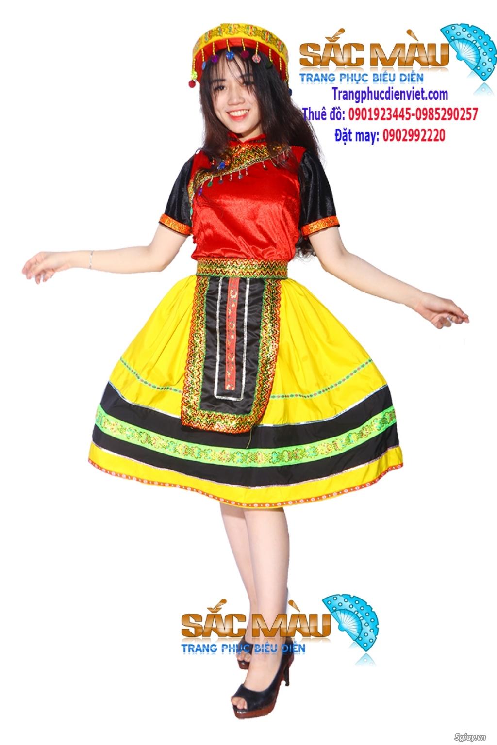 Cho thuê trang phục Tây Bắc - dân tộc Mèo ( H'Mông) giá rẻ  Quận 12