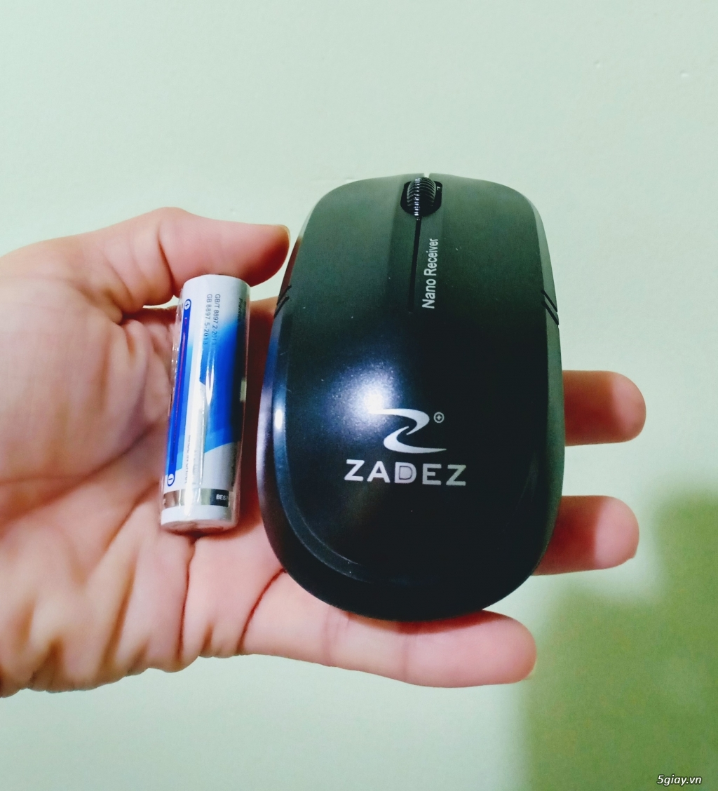 Chuột quang không dây ZADEZ M366 - TỰ NGẮT KẾT NỐI- TIẾT KIỆM PIN - 1
