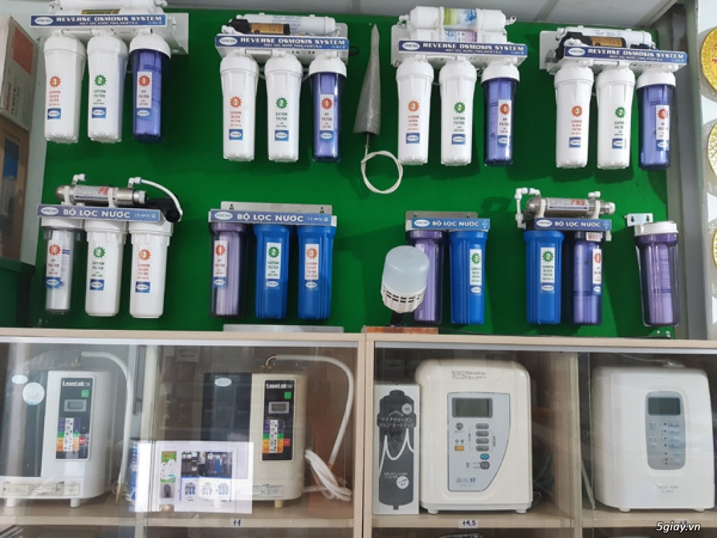 Máy lọc nước ion kiềm, máy lọc nước tinh khiết, máy lọc nước nóng lạnh - 13