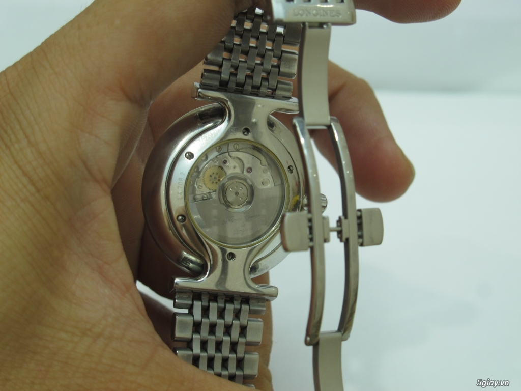 Đồng hồ Longines nam automatic like new size 34 giá rẻ - 11