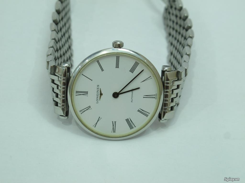 Đồng hồ Longines nam automatic like new size 34 giá rẻ - 14