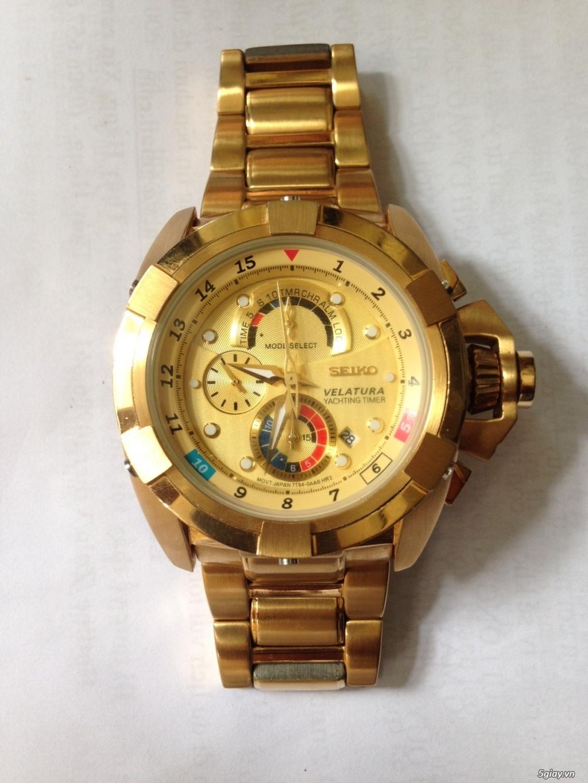 Đồng hồ SEIKO  VELATURA chronograph quartz, hàng Nhật - 1