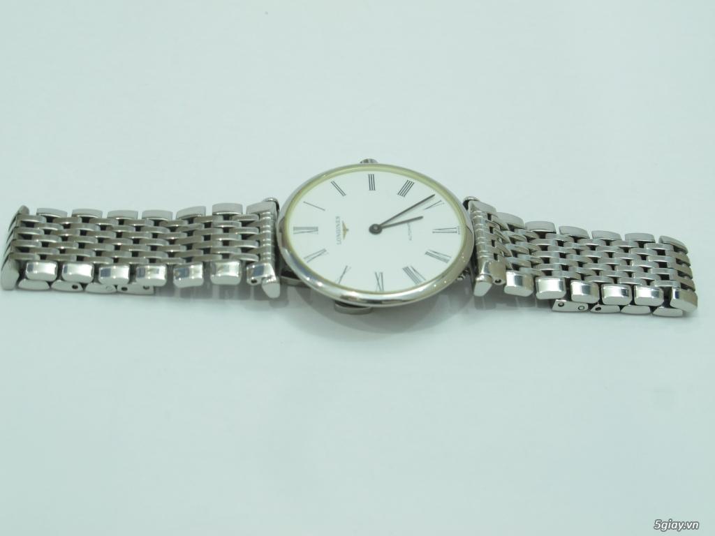 Đồng hồ Longines nam automatic like new size 34 giá rẻ - 16