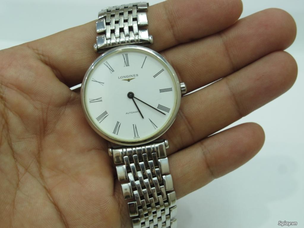 Đồng hồ Longines nam automatic like new size 34 giá rẻ - 12