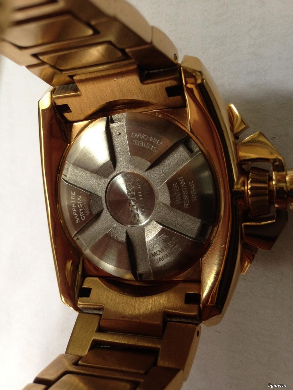 Đồng hồ SEIKO  VELATURA chronograph quartz, hàng Nhật - 3
