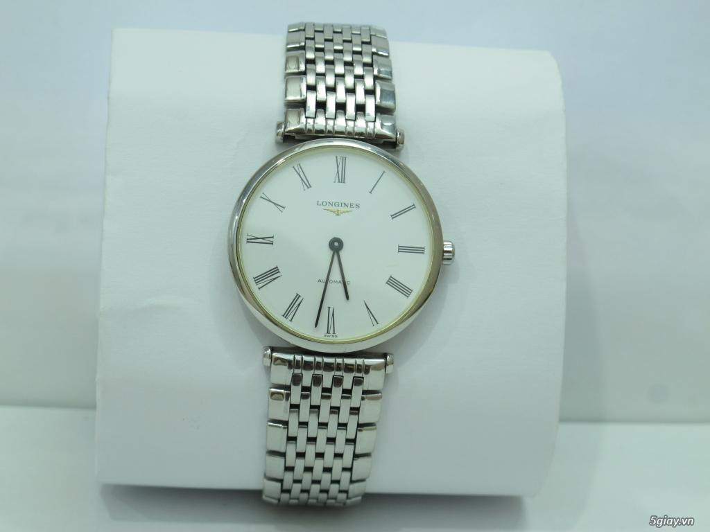 Đồng hồ Longines nam automatic like new size 34 giá rẻ