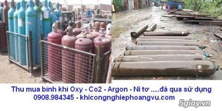 Thu mua vỏ bình khí củ đã qua sữ dụng