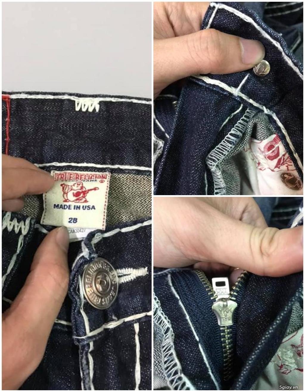 Quần jean si đa ( 2hand ) của các hãng Ông địa , D&G , A/X...  nhập từ USA , Italy ... - 28