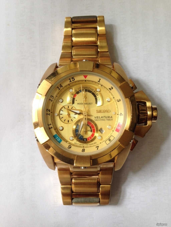 Đồng hồ SEIKO  VELATURA chronograph quartz, hàng Nhật - 4
