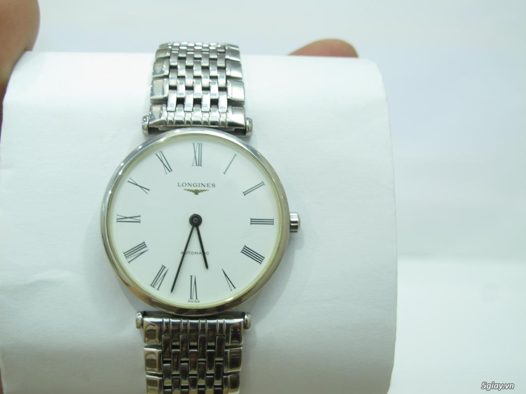Đồng hồ Longines nam automatic like new size 34 giá rẻ - 4
