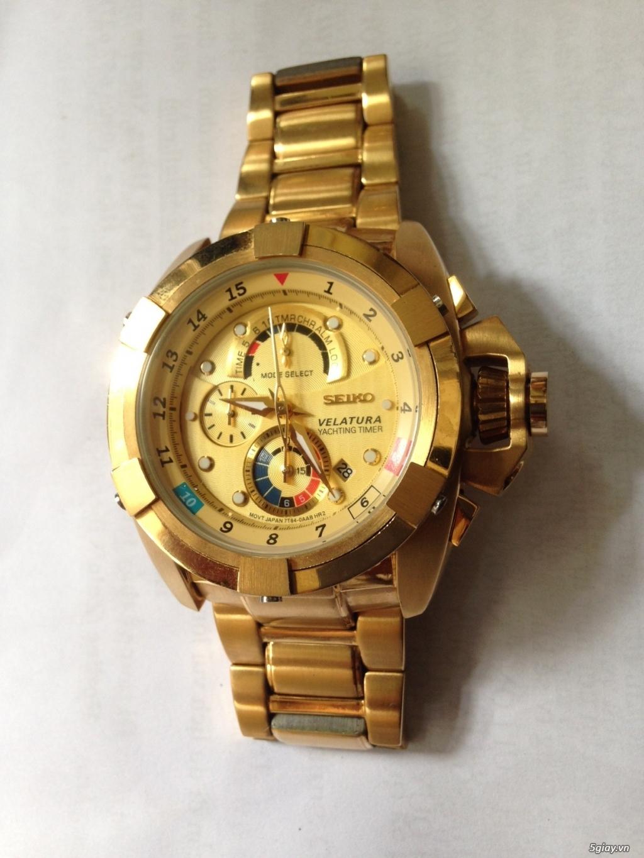 Đồng hồ SEIKO  VELATURA chronograph quartz, hàng Nhật