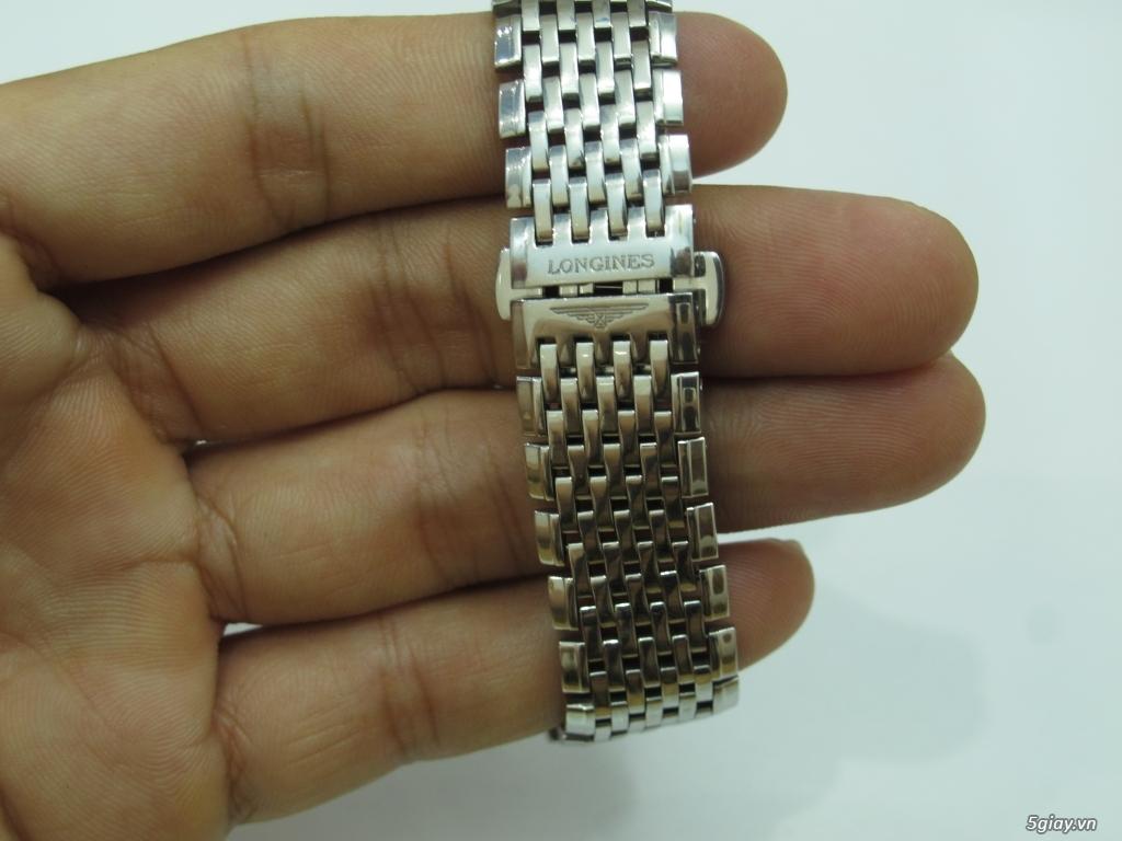 Đồng hồ Longines nam automatic like new size 34 giá rẻ - 9