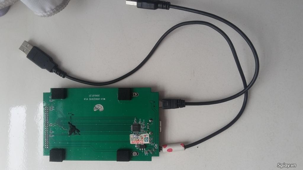 HDD laptop ATA và usb box