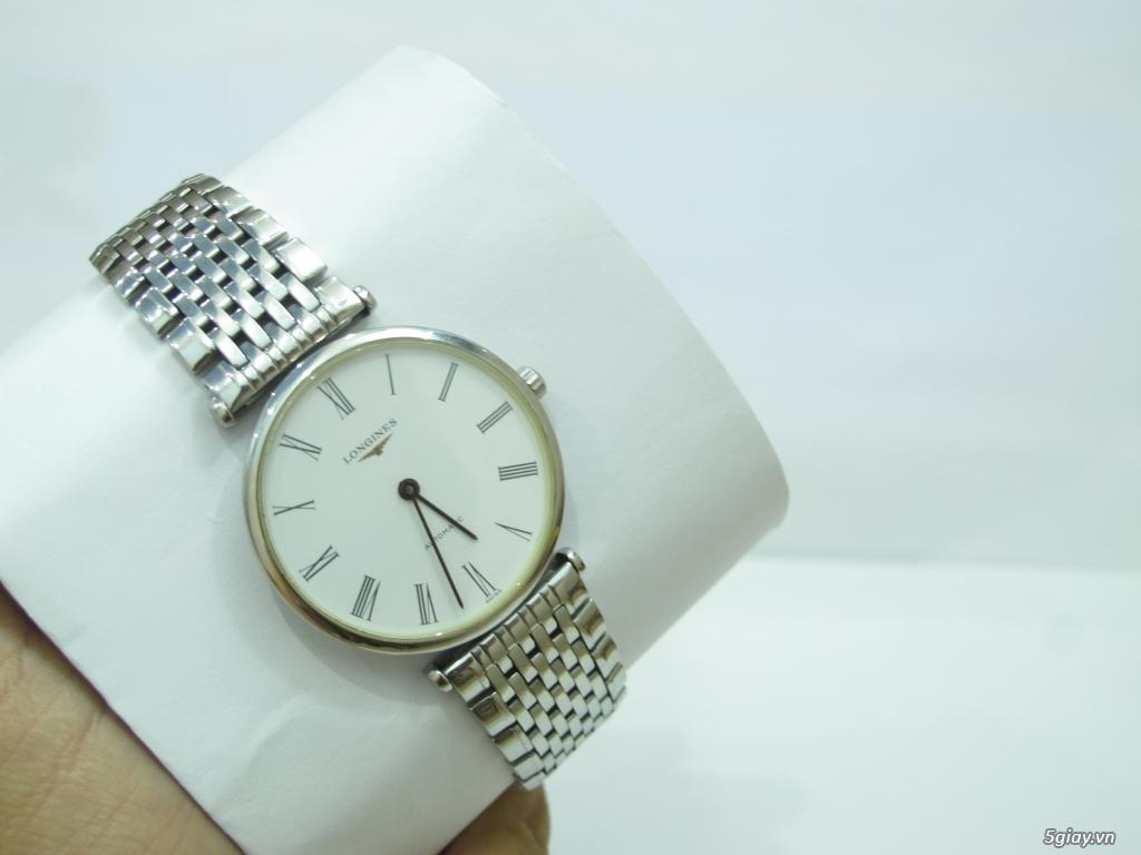Đồng hồ Longines nam automatic like new size 34 giá rẻ - 2