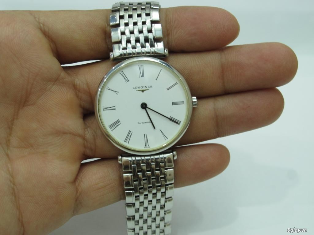 Đồng hồ Longines nam automatic like new size 34 giá rẻ - 10