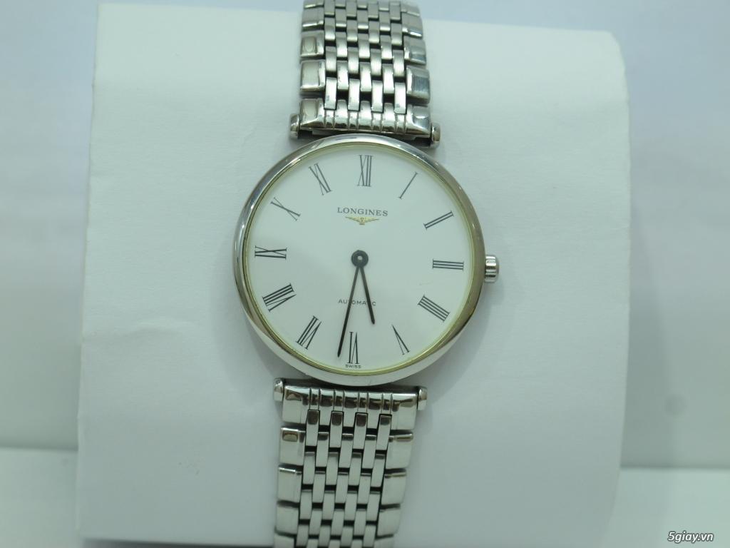 Đồng hồ Longines nam automatic like new size 34 giá rẻ - 7