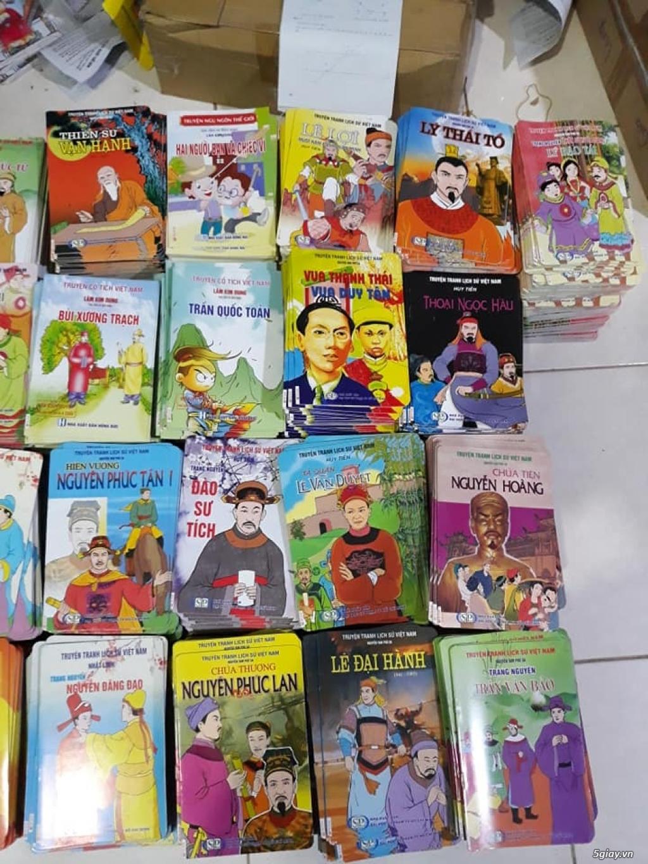 Bộ truyện tranh màu lịch sử, cổ tích Việt Nam cho trẻ đọc End: 23h 10/11/19
