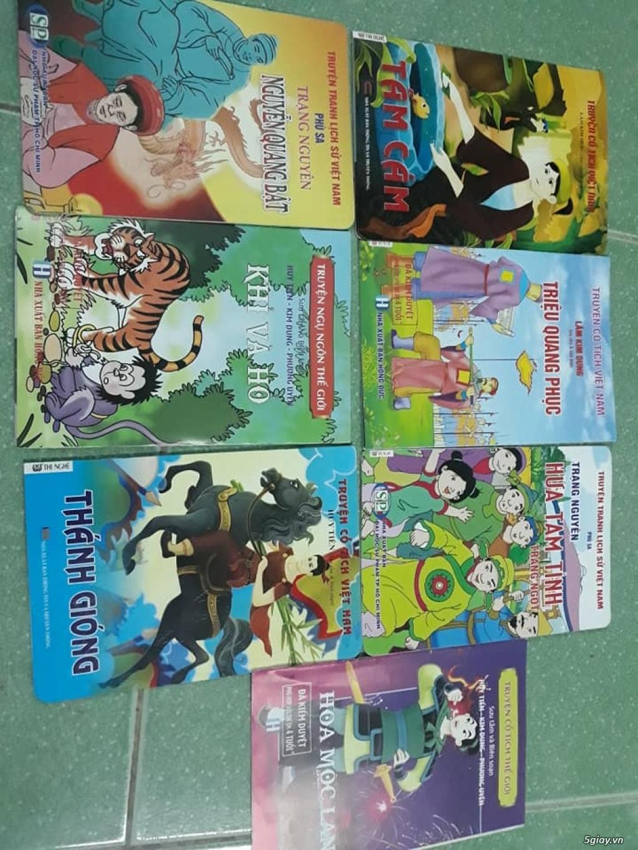 Bộ truyện tranh màu lịch sử, cổ tích Việt Nam cho trẻ đọc End: 23h 10/11/19 - 3