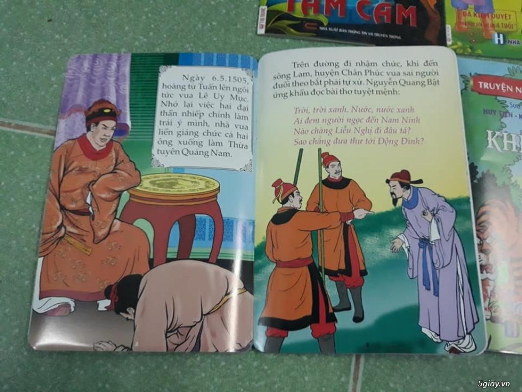 Bộ truyện tranh màu lịch sử, cổ tích Việt Nam cho trẻ đọc End: 23h 10/11/19 - 4